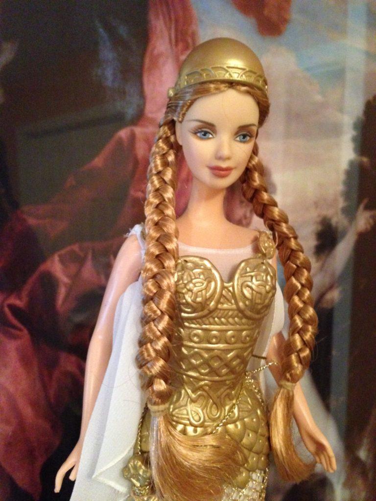 Viking Barbie nude 251