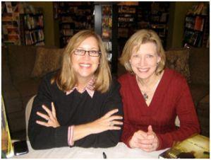 Laura and writer J.T. Ellison, Nashville, Tennessee