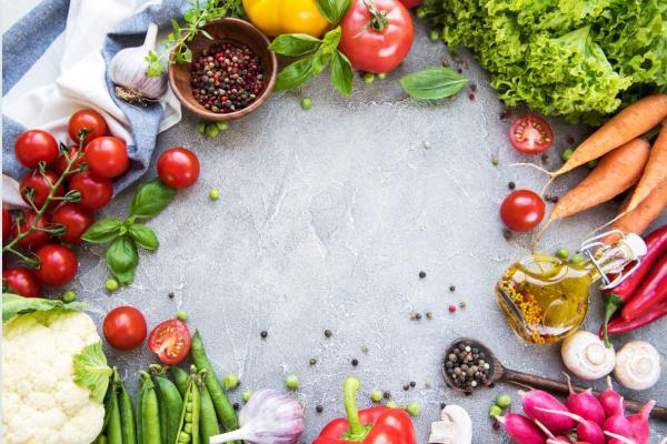 Cerchio verdure