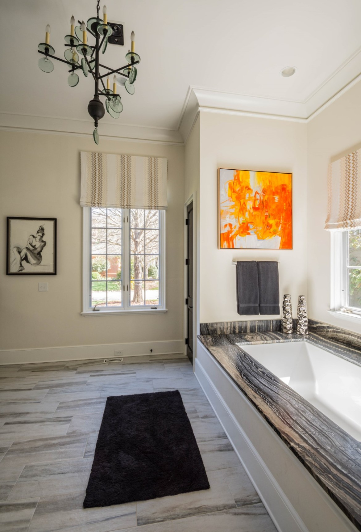 10 - Charlotte Interior Designer Master Bathroom 1 (Custom)