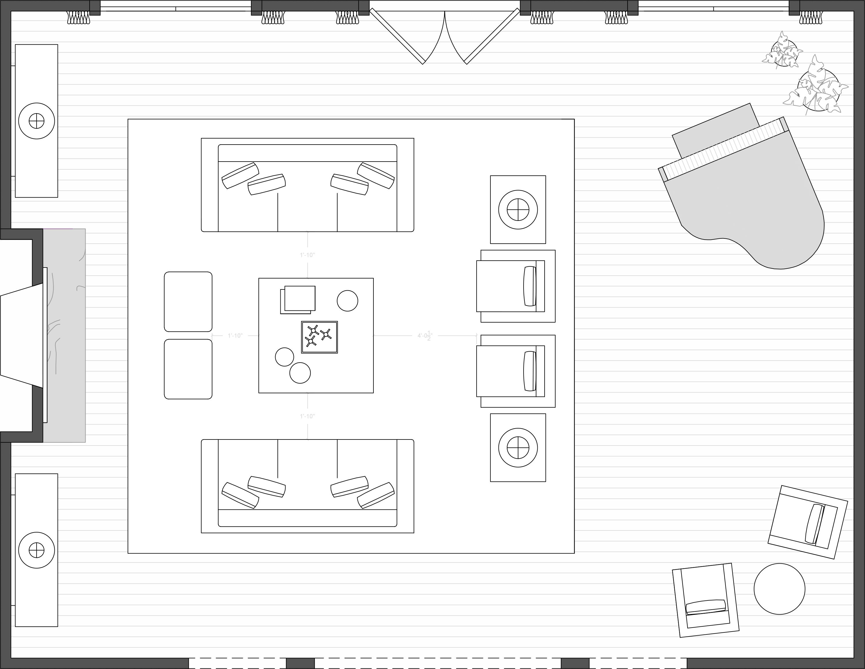 Interior Design Process Floor Plan