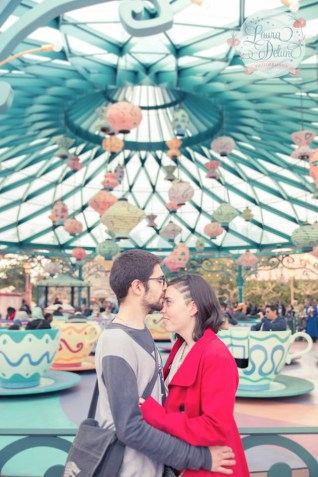 engagement session disneyland paris
