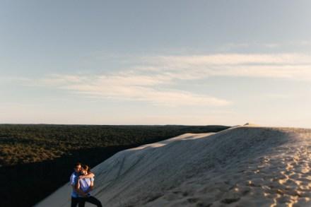 séance couple dune du pilat