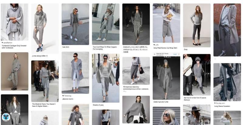 What We Want Wednesday Greyscale Pinterest Fashion Board Screenshot