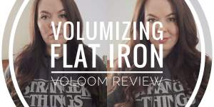 Volumizing Flat Iron Voloom Hair Volume Review