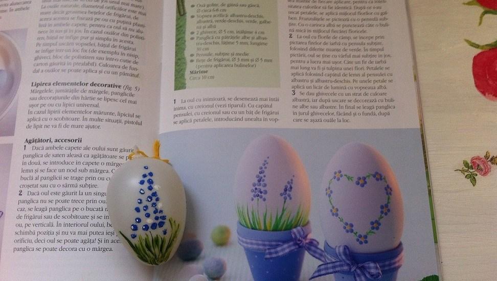ou floare mov