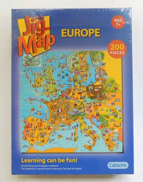 puzzle carton europa