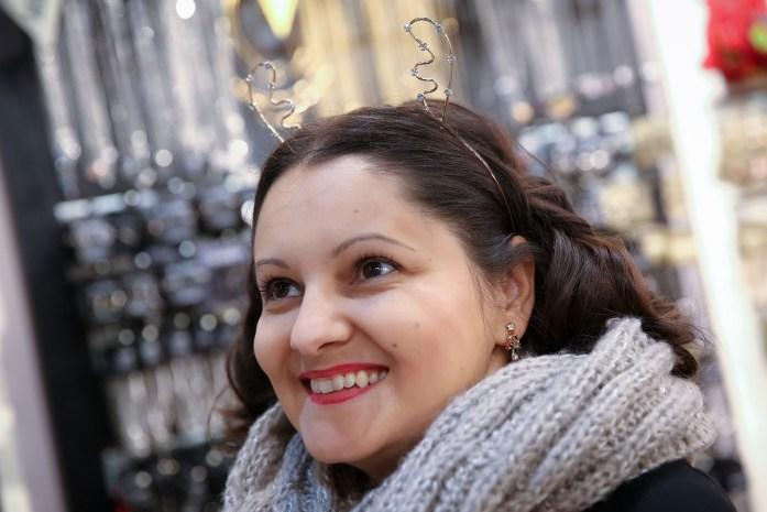 Laura Frunza la Aushan - foto Cristina Nichitus