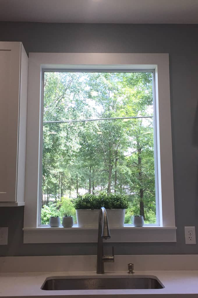 How To Build Farmhouse Window Trim Laura Fuentes