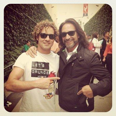 Con el gran maestro #MarcoAntonioSolis