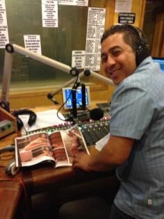 Aquí el Gigio en radio... viendo a María en la H... Cochinooooo