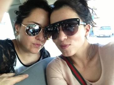 Aquí con Esme @unbesobye ... De mis mejores amigas