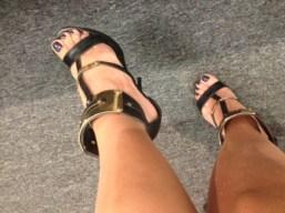 Mis zapatos que me regaló @vero_solis ... ¡ Lo máximo!