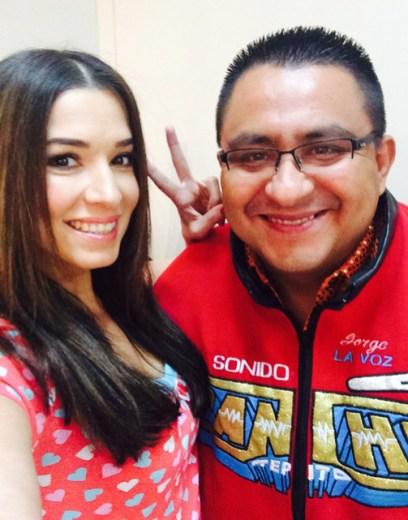 Aquí con Pancho de Tepito