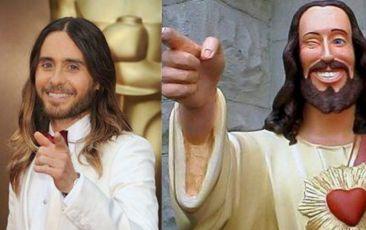 Jared Leto con con Jesucristo