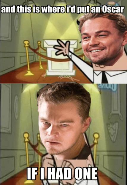 No faltaron las burlas a DiCaprio