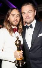 Jared Leto y Leonardo DiCaprio