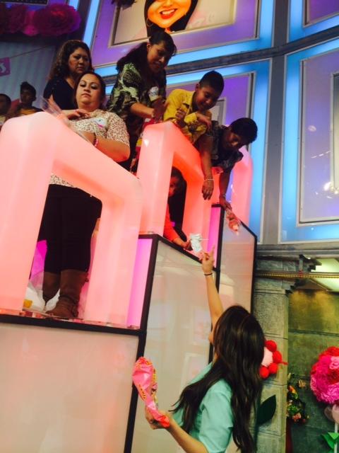 Detalles para las mamas del público