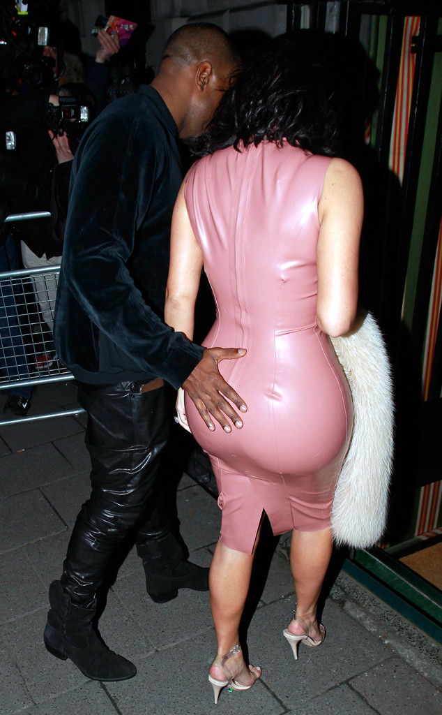 Encantador Vestido De Fiesta De Kim Kardashian Ideas Ornamento ...