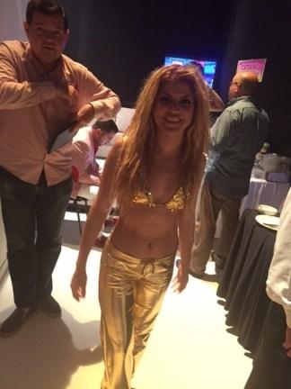 Shakiraaaaa llego a Sabadazo