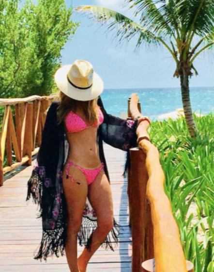 Geraldine Bazán se desnuda en Instagram