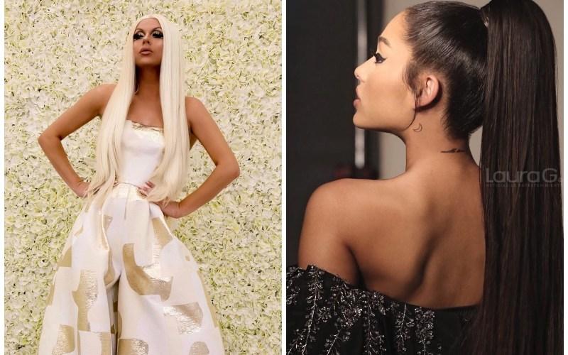 Ariana Grande Farrah Moan Drag Queen RuPaul's Drag Racen