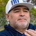 Empleados difunden fotografías de Maradona en la funeraria