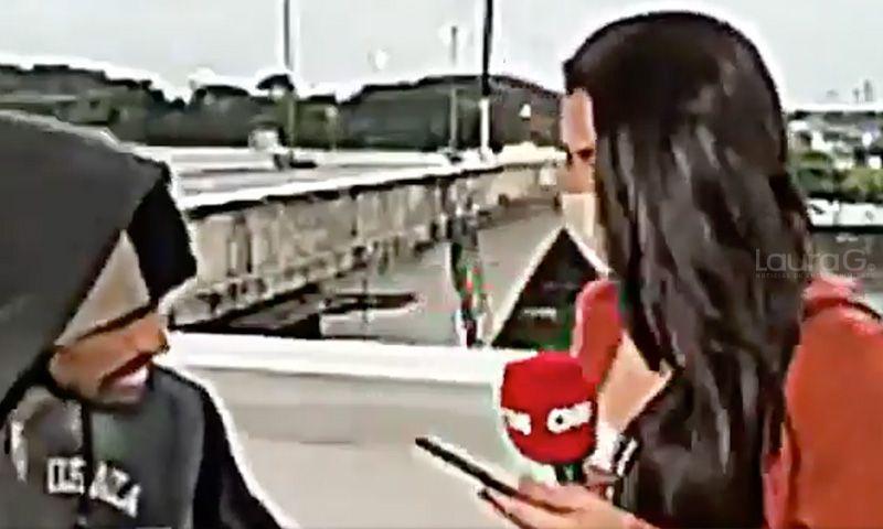 asaltan a reportera