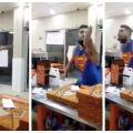 Hombre agrede a personal de una pizzería, luego de negarle el servicio
