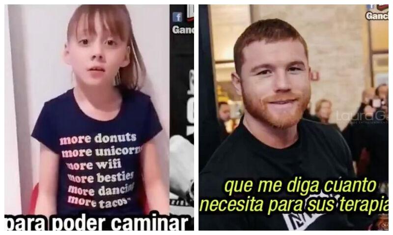 Canelo' Álvarez responde a una niña que pidió su ayuda - glbnews.com