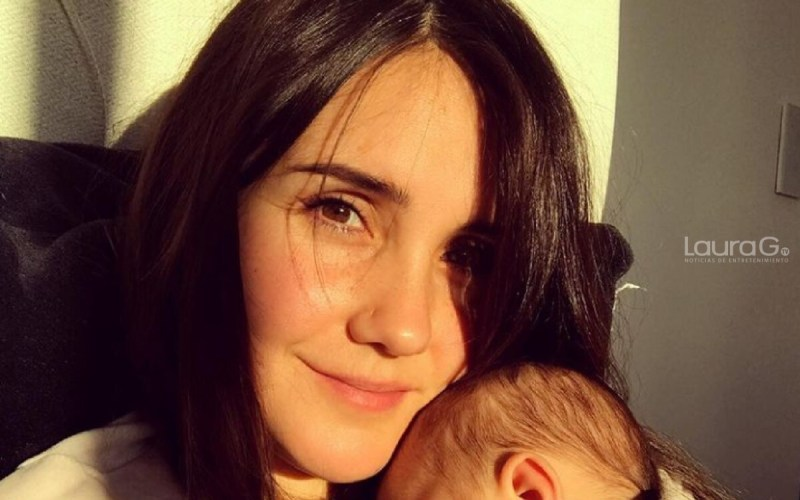 dulce maria su bebe