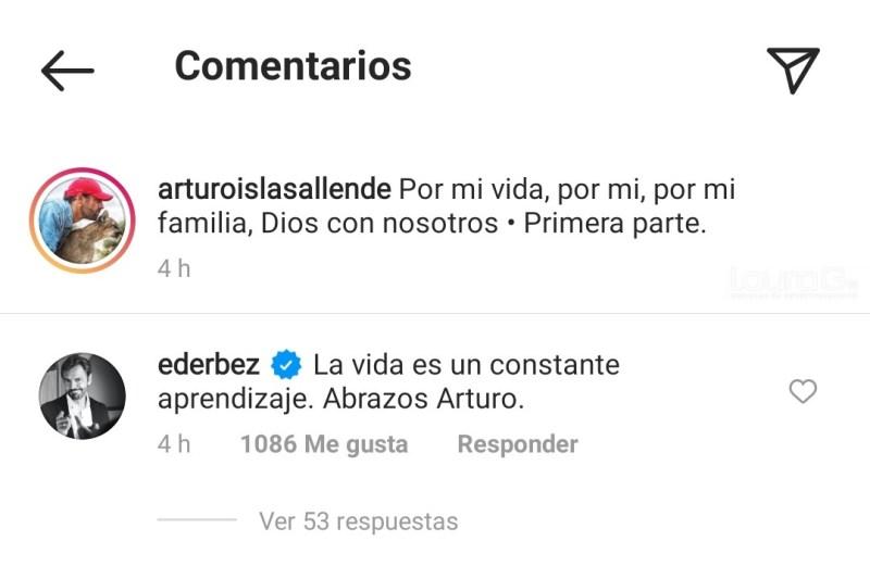 Foto: Instagram Arturo Islas Allende /Eugenio Derbez