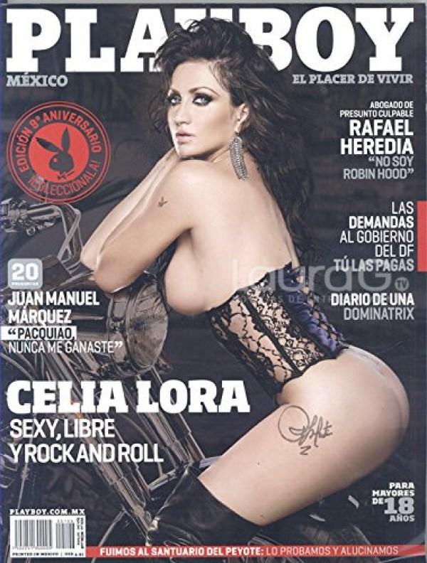 Celia Lora volverá a posar