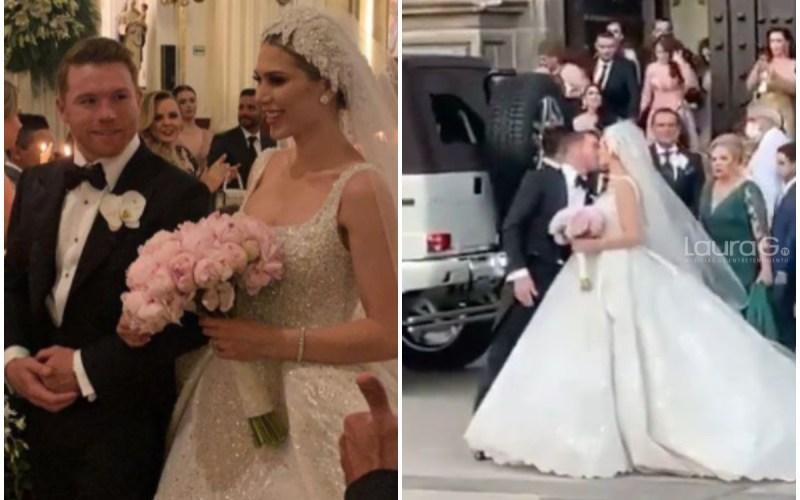 canelo alvarez boda iglesia