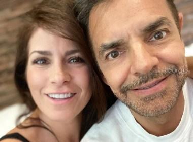 Eugenio Derbez y Alexandra Rosaldo
