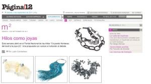 Página 12 - 3/9/2011 - Del textil a la joya