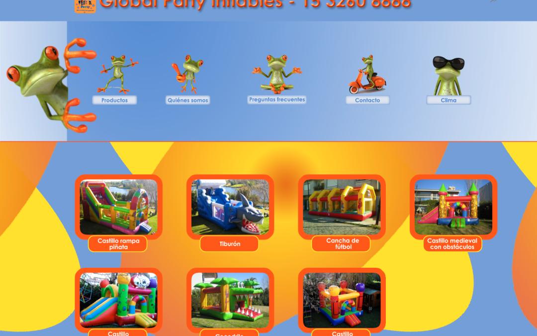Nuevo sitio, Global Party