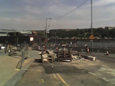 Sheffield roadworks
