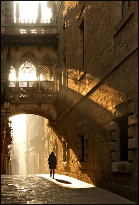 Light and Shadow, Barcelona, Spain