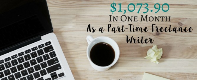 See how I made $1073.90 as a part-time freelance writer in this monthly income report for November.