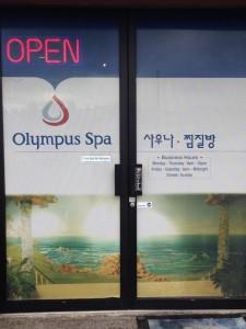 Olympus Spa open