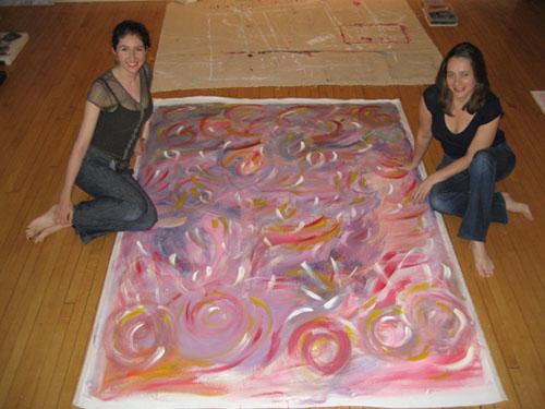 Soul Art Intensive Laüra Hollick with Karen Knowler