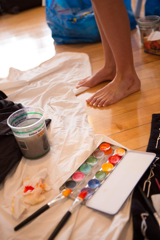 Painting Rainbeau Mars