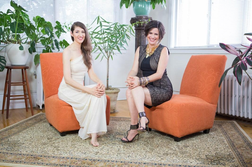 Laüra Hollick and Christina Morassi