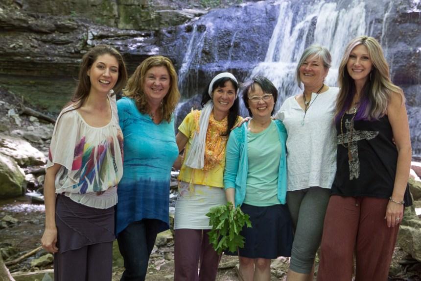 Soul Art Shaman at the Waterfall