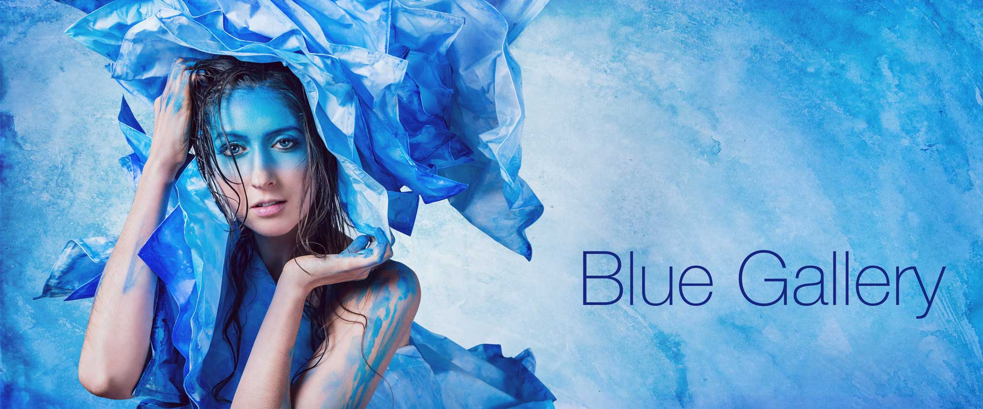 Laüra Hollick's Blue Gallery