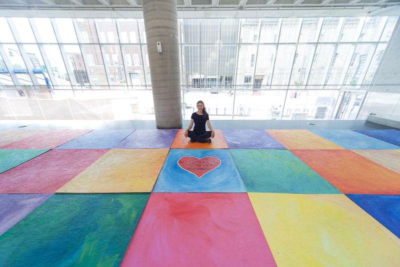 Rainbow House Art Exhibition