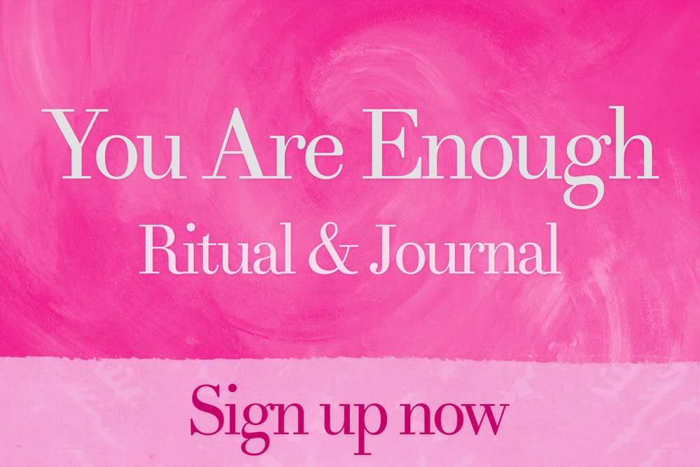 You Are Enough Journal and Ritual
