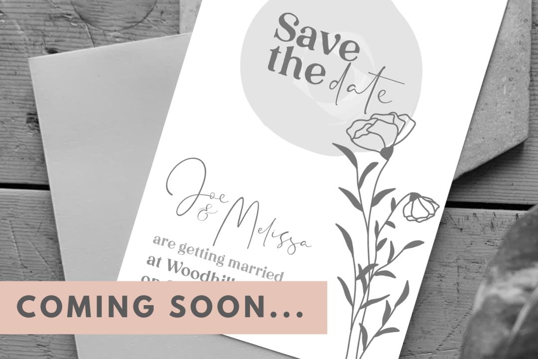 Coming Soon Wedding Shop