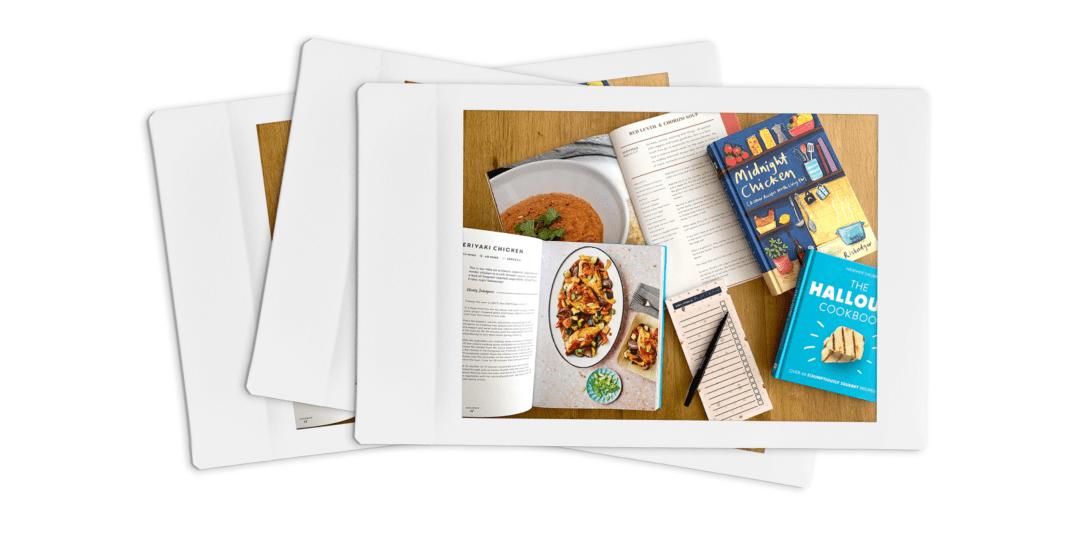 Illustrative Image of Recipe Books